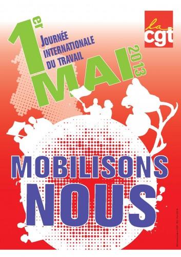 affiche 1er mai 2013