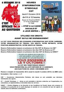 projet drancy heures d'information du 9 octobre 2018